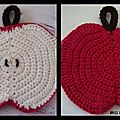 Apple Dishcloth