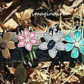 Bracelets sur fil mémoire...