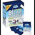 14 dosettes de 10 grammes de bicarbonate de sodium alimentaire - le bicarbonate