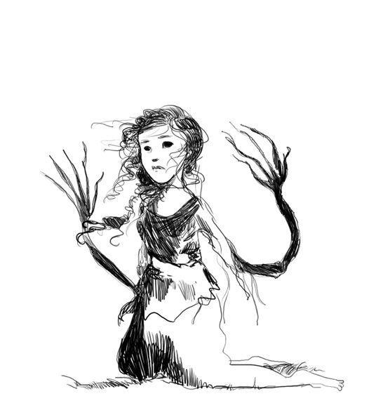 une sorcière d'hiver