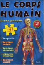 Le corps humain livre puzzle