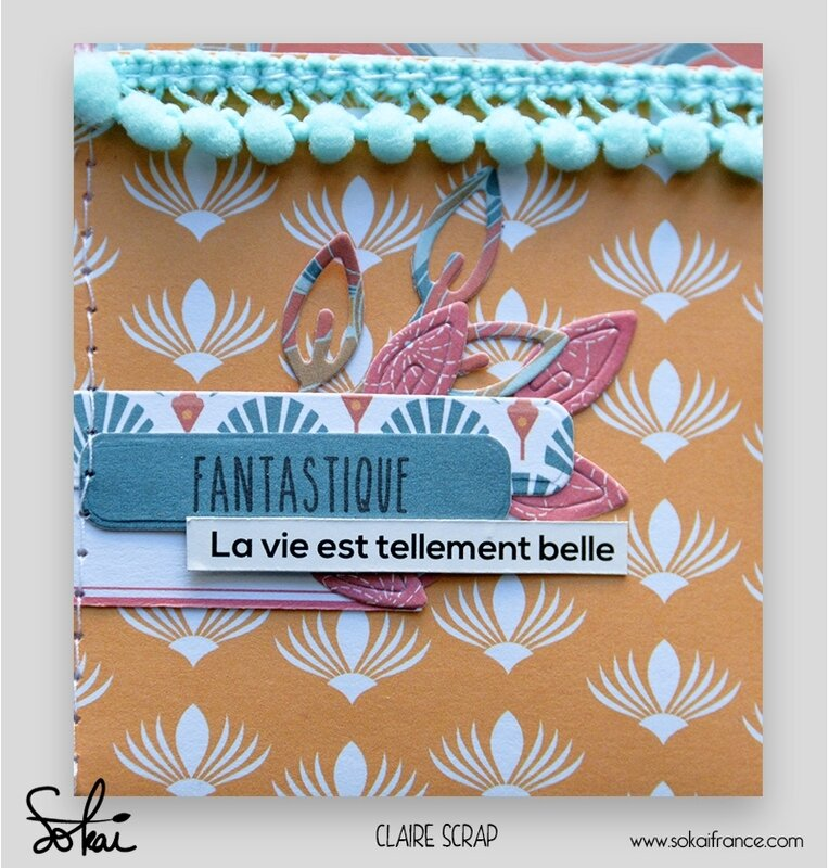 mini tag Maé - collection So'leil levant- ouvert vide detail#1 - claire scrapathome - sokai