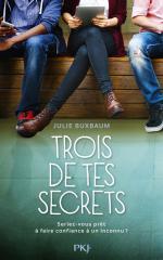 Trois de tes secrets_Julie Buxbaum