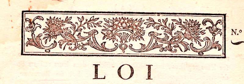 Le 14 février 1791 à Mamers : lois.
