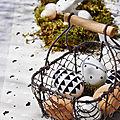 Paques 2017 : dejeuner champetre au style graphique et naturel