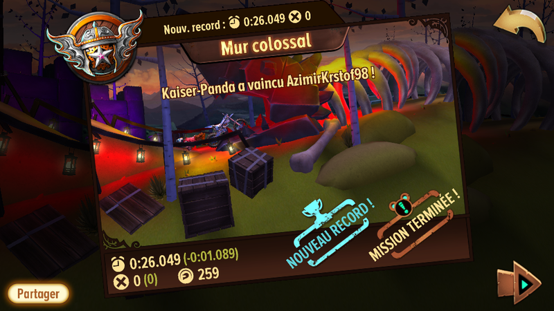 Trials Frontier - Record Mur Colossal