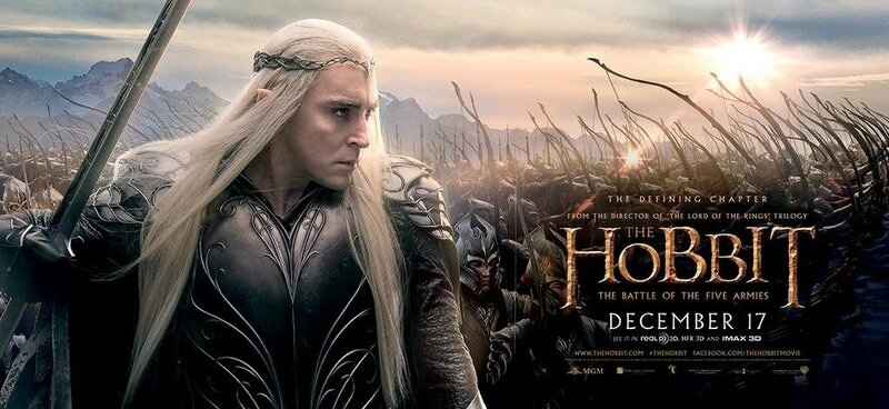 Banner Thranduil The Hobbit The Battle of the Five armies