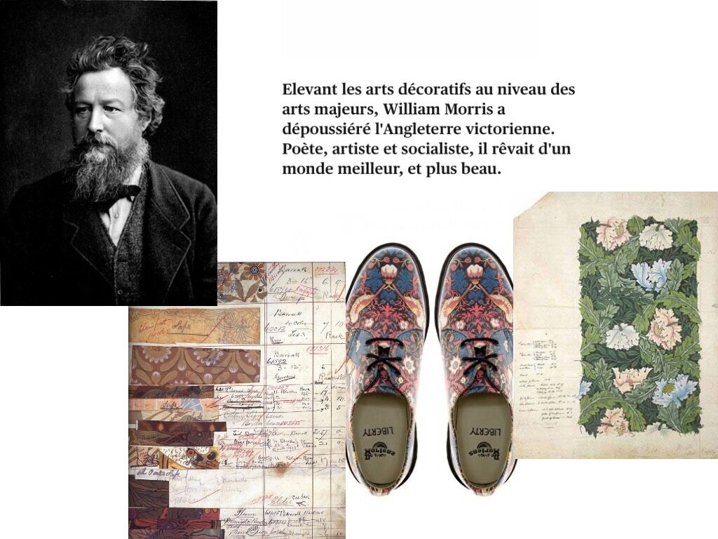 L univers de William Morris🍃🌿
