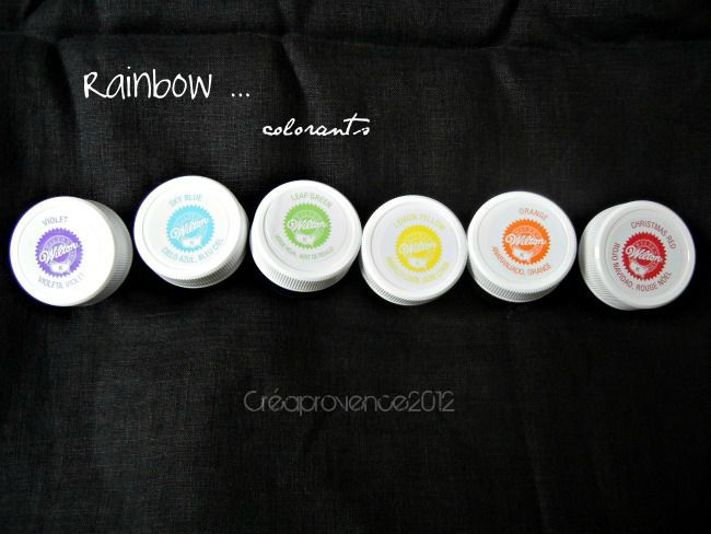 rainbow colorants