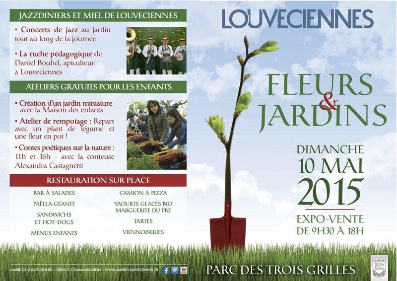Flyer Fleurs & JardinsLOUVECIENNES 2015