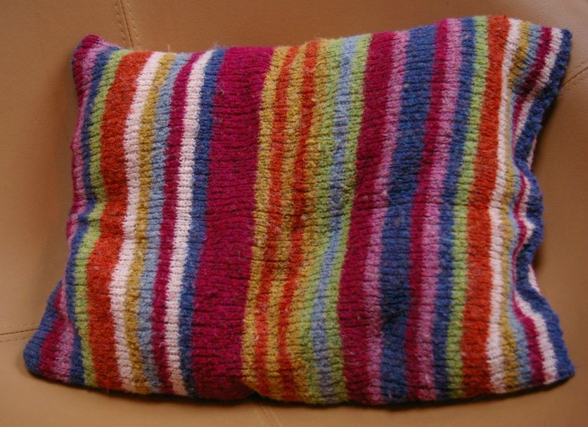 Coussin pull, 2012