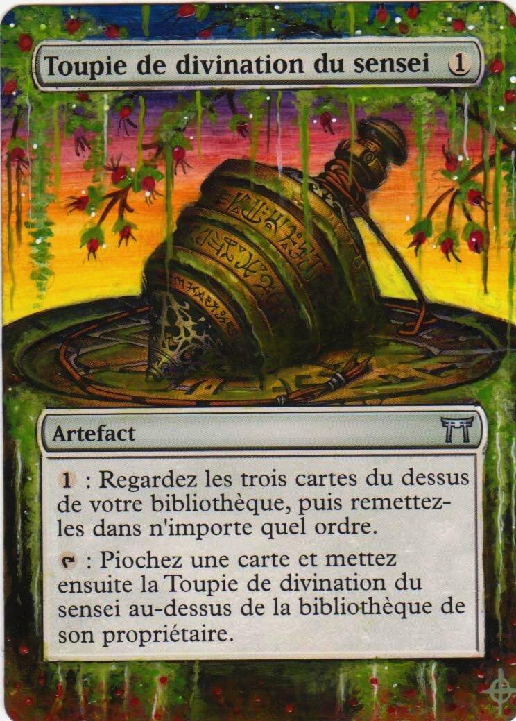 ¤ Toupie De Divination Du Sensei altéré ¤