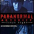 Paranormal activity - tokyo night (poltergeist - esprit frappeur)