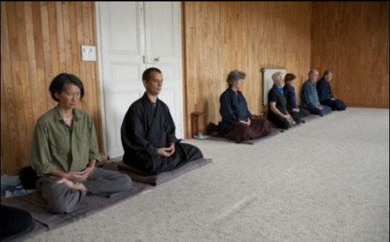 Sesshin zen au centre Assise