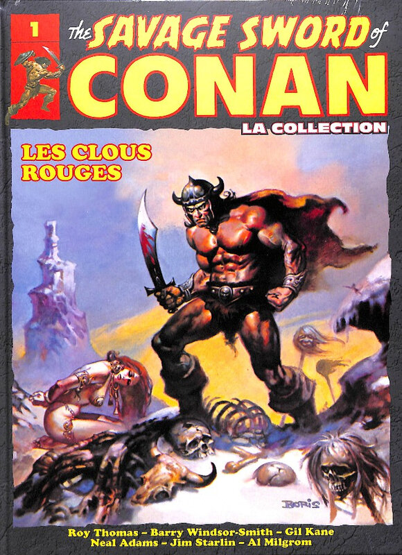 hachette savage sword of conan 01 les clous rouges