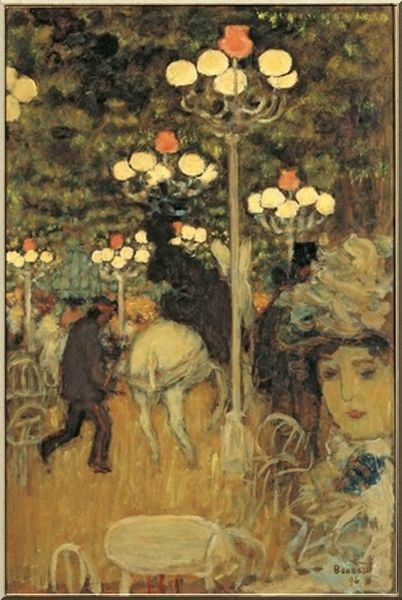 Bonnard Pierre Cafe de Paris Jardins de Paris
