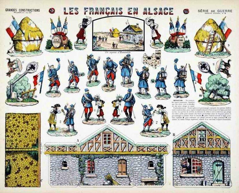 Epinal Les français en Alsace