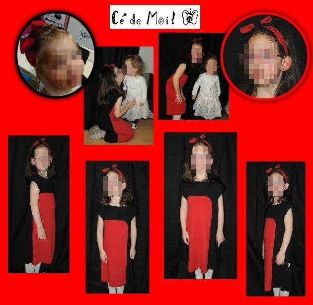 16-01-21 recyclage robe pour Julie - défi 1mois1créa rouge