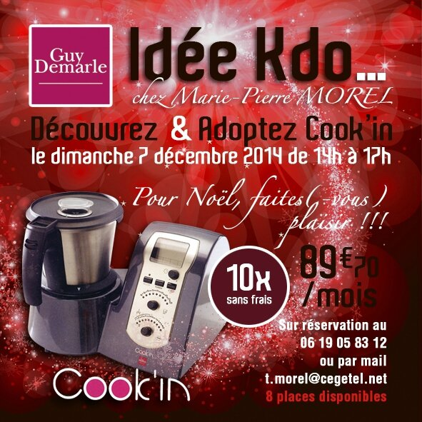 INVITATION COOKIN NOEL 2014