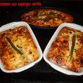 Flans au saumon et asperges vertes
