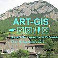 Art-gis/il était une fois des artistes et un vieux lavoir pour les journées du patrimoine