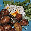 Poêlée de pommes de terre nouvelles glacées à l'huile d'olive, sauge et romarin pour célébrer les 50 ans du pardon de loc ildut!