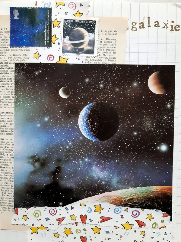Collage 28 - GALAXIE