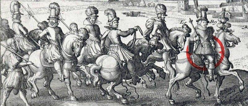 Louis XIII et sa cour