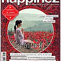 Happinez n° 7 : gratitude