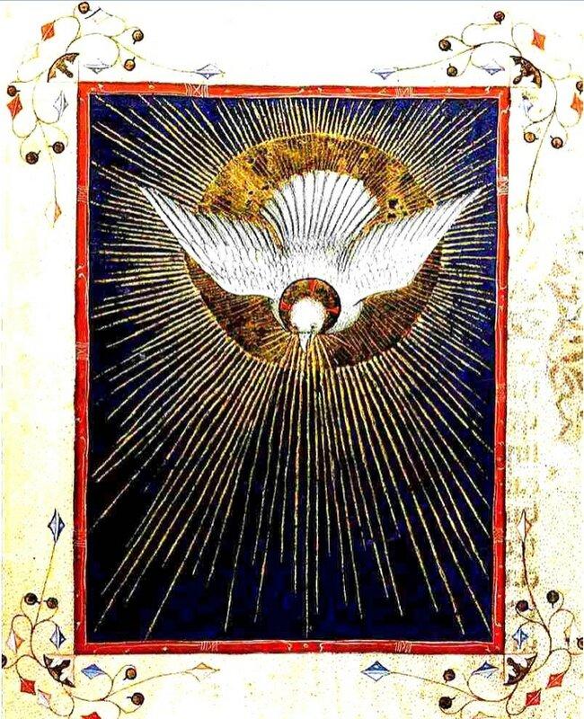 Esprit Saint, Missel franciscain