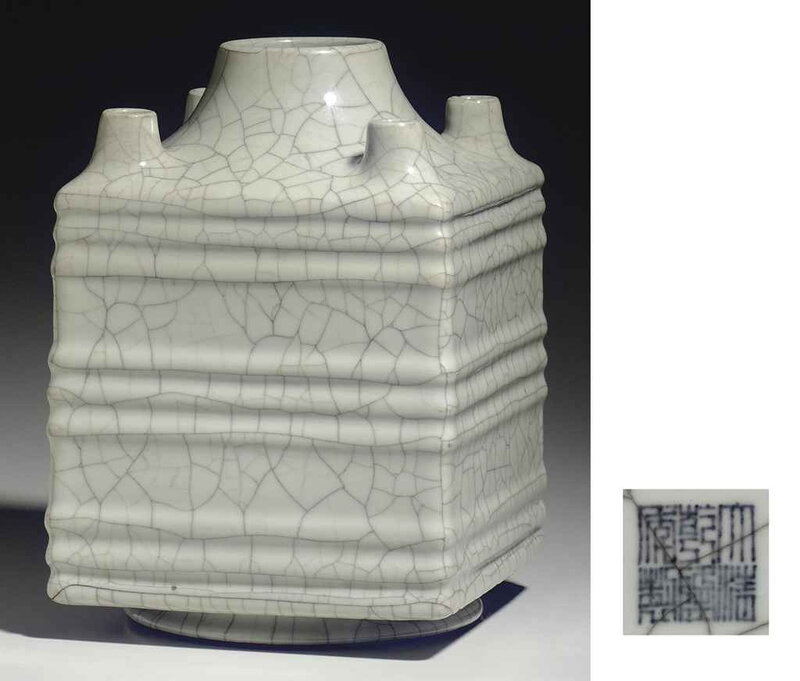2011_NYR_02427_1759_000(a_rare_guan-type_square_vase_qianlong_six-character_seal_mark_in_under)