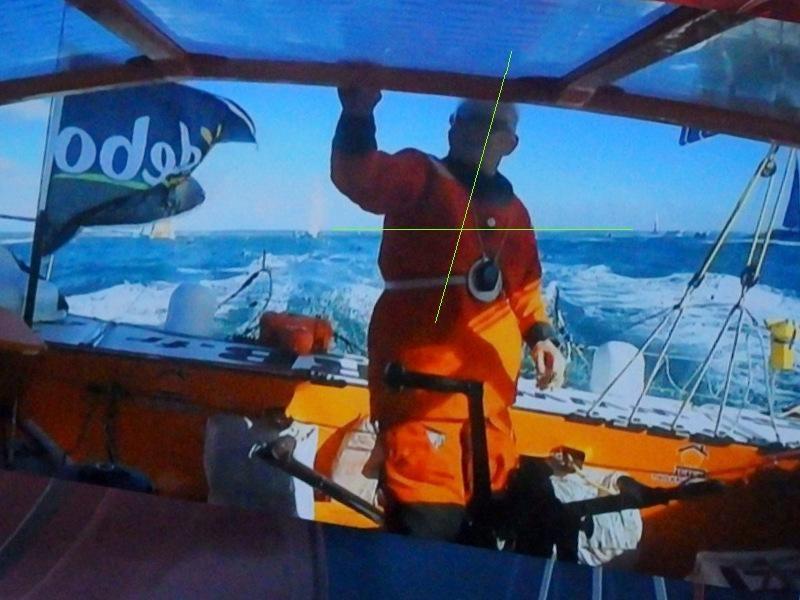 165 K° Skipper Vincent RIOU VendéeGlobe Sables D'olonne