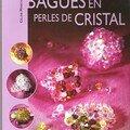 bagues en perles de cristal