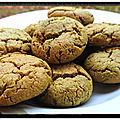 Cookies à la pâte de pistaches de sicile