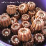 mini cannelés nutella