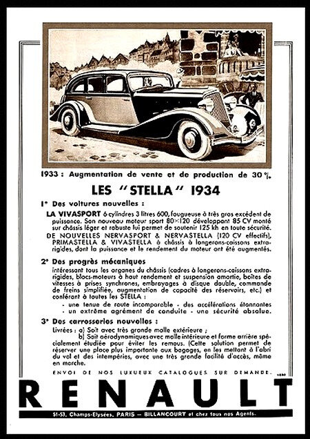 renault la french touch palmares stella 1934