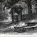 La Fontaine Ste Marie