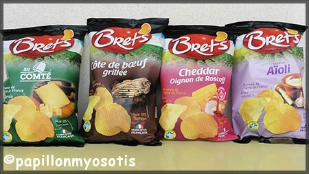 gamme chips bret's