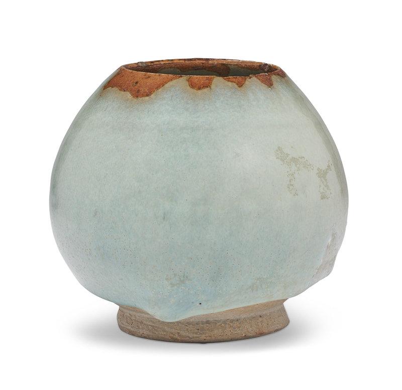 A Jun bud-form water pot, Jin-Yuan dynasty, 13th-14th century