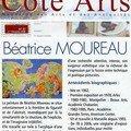 Pressbook côté arts 2°trimestre 2006