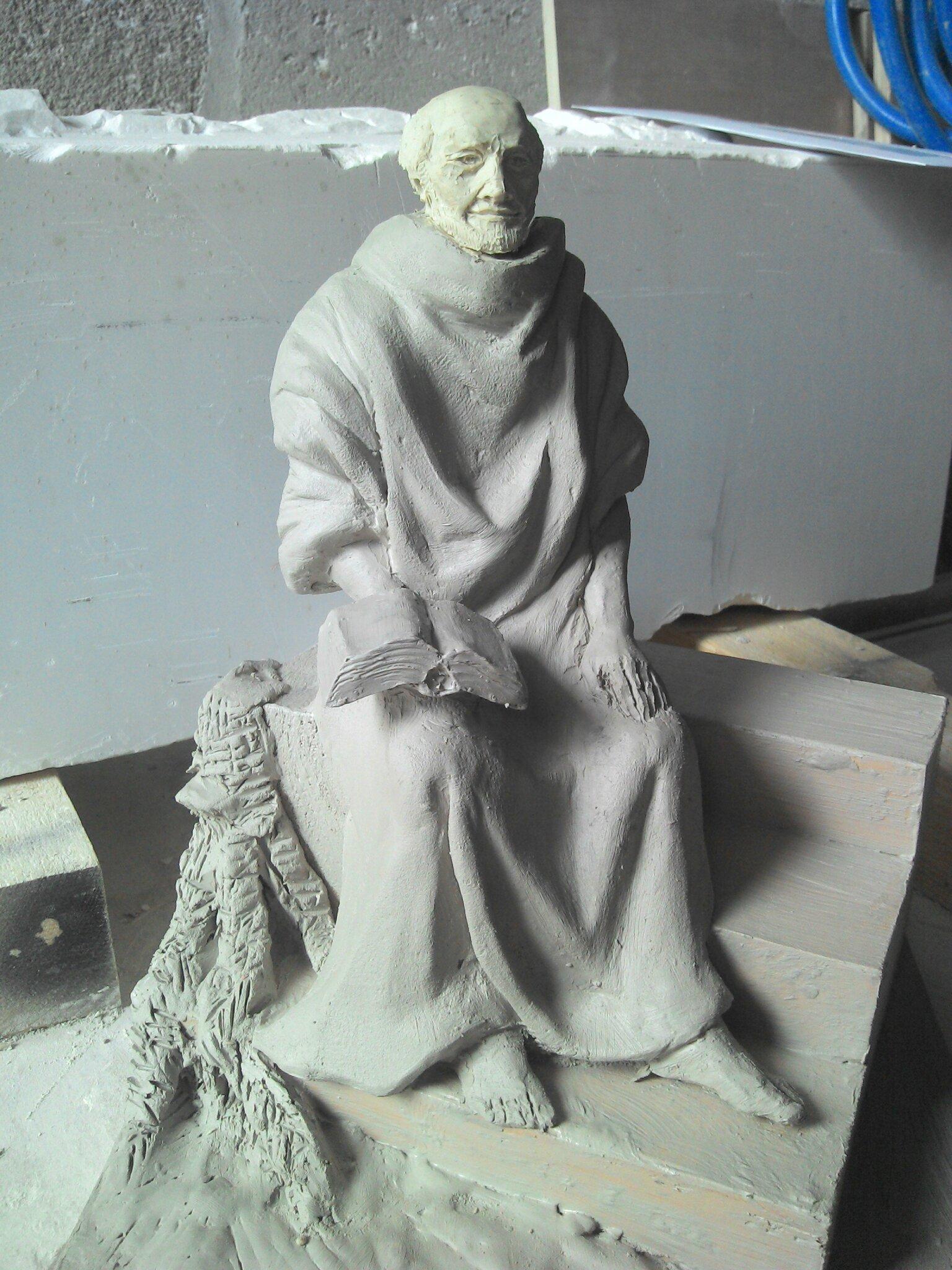Fulbert DUBOIS sculpteur - sculpture argile