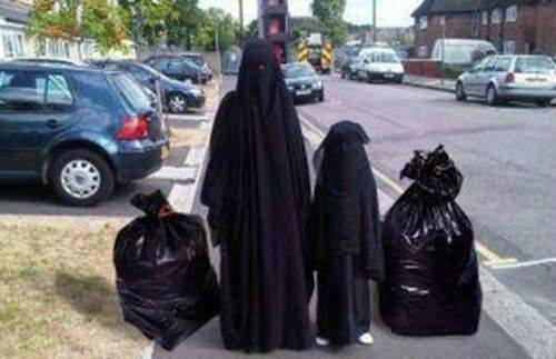 islam burqua humour