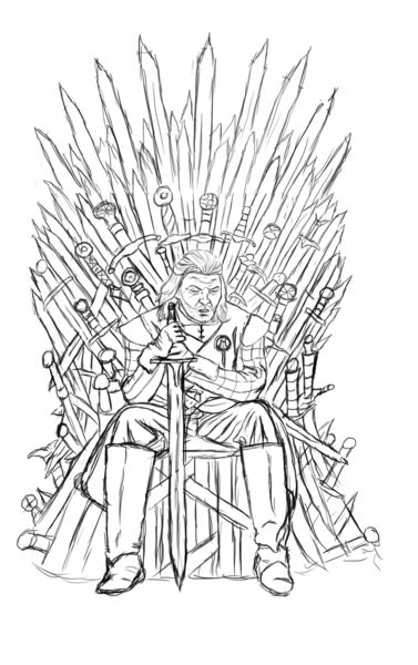 games of throne croquis entier