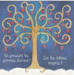 Carte carré arbre