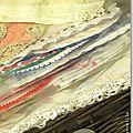 Collection Marimerveille petits napperons chinés