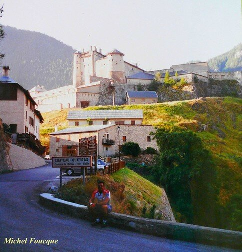 787) montée à vélo au Col Agnel (Queyras)