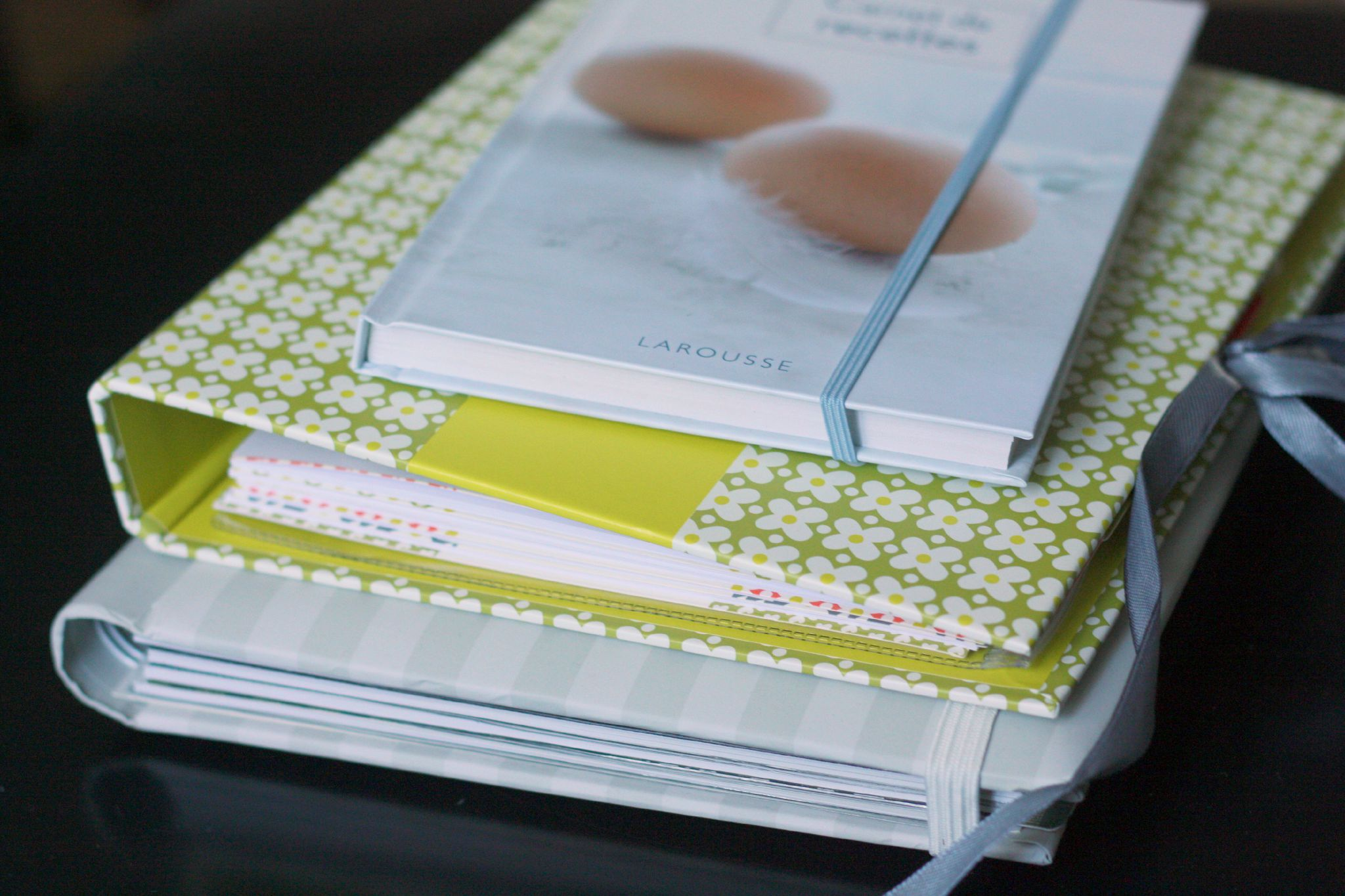 mes cahiers de recette ou comment arr ter d 39 avoir des petits papiers partout chez requia. Black Bedroom Furniture Sets. Home Design Ideas