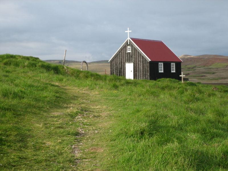 L'une des multiples chapelles protestantes de bois
