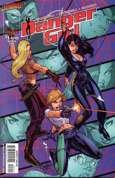 Wildstorm / IDW Danger Girl by J Scott Campbell