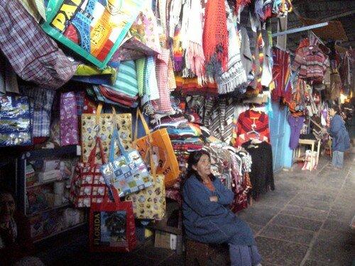 Cuzco, le marché